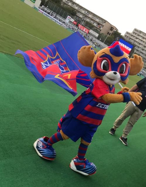 東京ドロンパのバースデー祝ってきました!FC東京U23vsグルージャ盛岡。