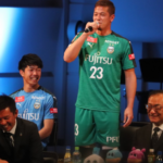 GK藤嶋栄介・・・両者合意で退団。右膝前十字靭帯損傷で全治約7か月の大怪我中…。