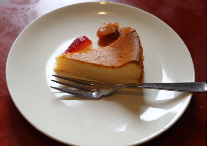 ベイクドチーズケーキ(おきな堂)