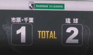 ジェフ千葉1-2FC琉球